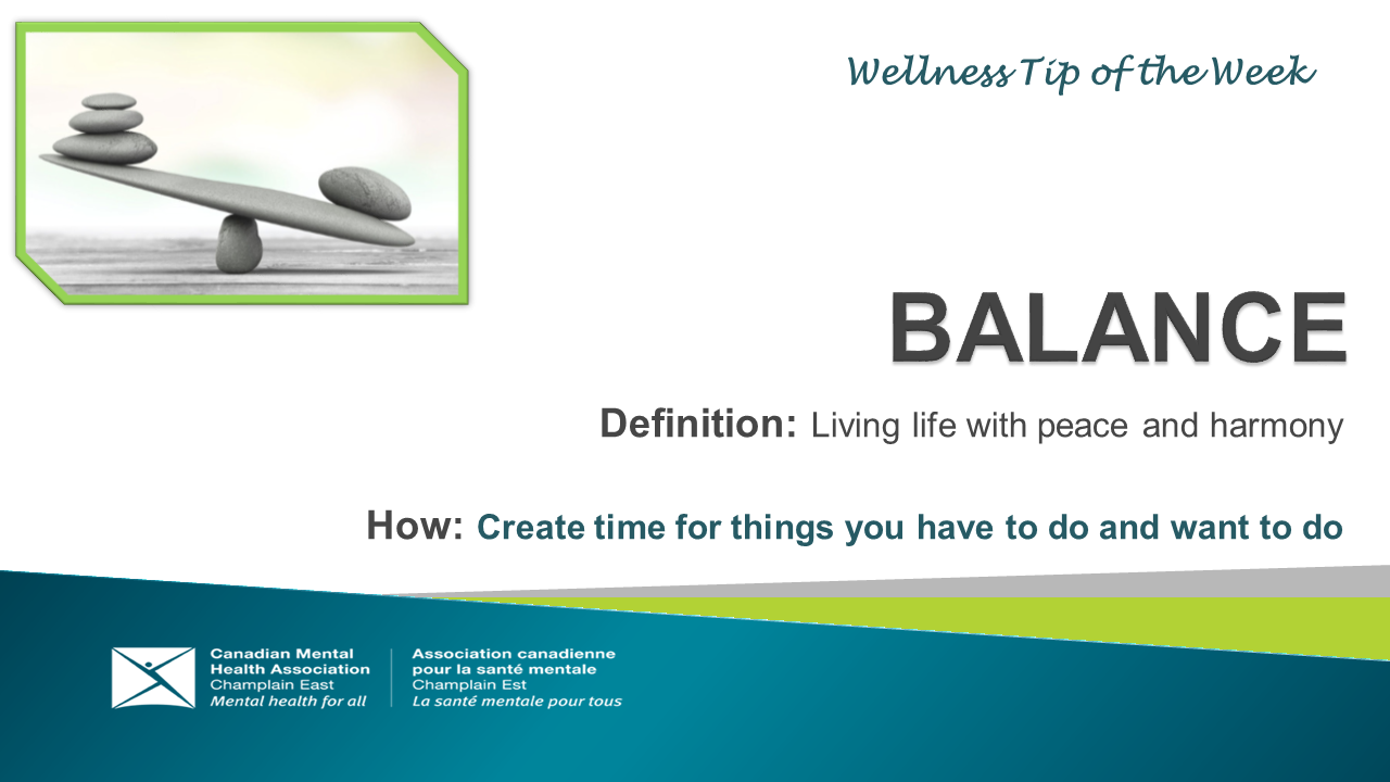 Wellness tip 6